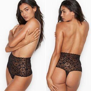 NWT XL Victoria's Secret High Waist Thong Panty VS